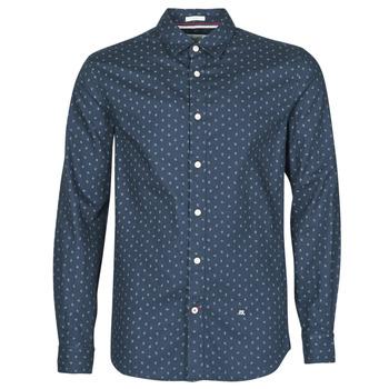 tekstylia Męskie Koszule z długim rękawem Pepe jeans ADAN Marine