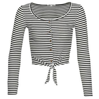 tekstylia Damskie Topy / Bluzki Pepe jeans FALBALA Czarny