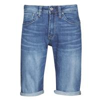 tekstylia Męskie Szorty i Bermudy Pepe jeans CASH Niebieski / Medium