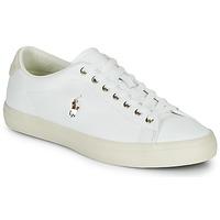 Buty Męskie Trampki niskie Polo Ralph Lauren LONGWOOD-SNEAKERS-VULC Biały