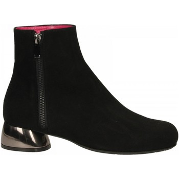 Buty Damskie Low boots Le Babe CAMOSCIO nero