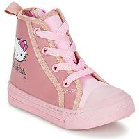 Buty Dziewczynka Trampki wysokie Hello Kitty TANSIOUR Różowy