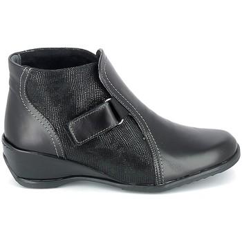 Buty Damskie Buty za kostkę Boissy Boots Noir Czarny