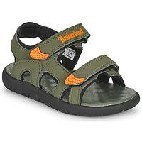 Buty Dziecko Sandały Timberland Perkins Row 2-Strap Zielony / Pomarańczowy