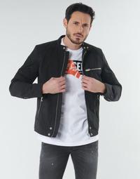 tekstylia Męskie Kurtki krótkie Diesel J-GLORY Czarny