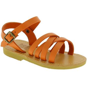Buty Dziewczynka Sandały Attica Sandals HEBE CALF ORANGE Pomarańczowy