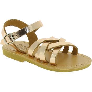 Buty Dziewczynka Sandały Attica Sandals HEBE CALF GOLD PINK