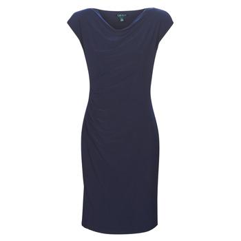 tekstylia Damskie Sukienki krótkie Lauren Ralph Lauren Ancelin Marine