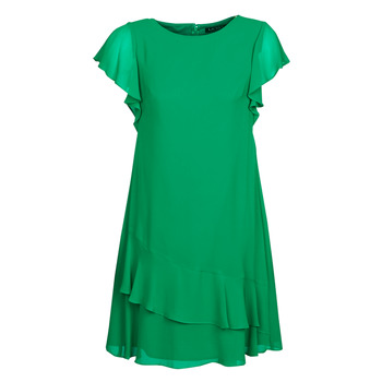 tekstylia Damskie Sukienki krótkie Lauren Ralph Lauren Arnould Zielony