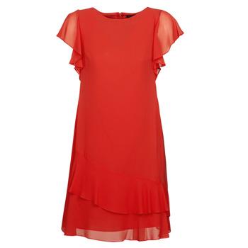 tekstylia Damskie Sukienki krótkie Lauren Ralph Lauren Arolde Czerwony