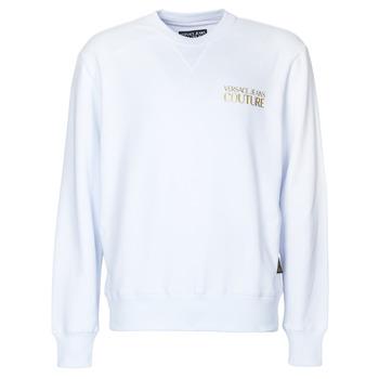 tekstylia Męskie Bluzy Versace Jeans Couture B7GVA7FB Biały