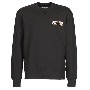 tekstylia Męskie Bluzy Versace Jeans Couture B7GVA7FB Czarny / Złoty