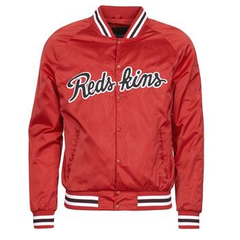 tekstylia Męskie Kurtki krótkie Redskins LAYBACK SWISH Czerwony