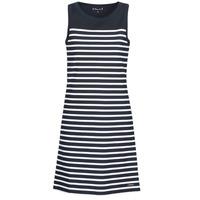 tekstylia Damskie Sukienki krótkie Armor Lux YITINE Marine / Biały