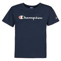 tekstylia Damskie T-shirty z krótkim rękawem Champion KOOLATE Marine