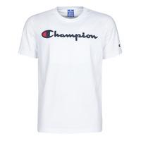 tekstylia Męskie T-shirty z krótkim rękawem Champion  Biały