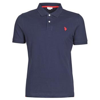 tekstylia Męskie Koszulki polo z krótkim rękawem U.S Polo Assn. INSTITUTIONAL POLO Marine