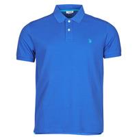 tekstylia Męskie Koszulki polo z krótkim rękawem U.S Polo Assn. INSTITUTIONAL POLO Niebieski