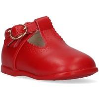 Buty Dziewczynka Derby & Richelieu Bubble 44078 czerwony