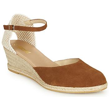 Buty Damskie Sandały So Size JITRON Camel