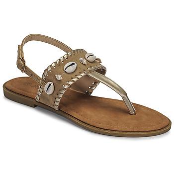 Buty Damskie Sandały Moony Mood MARISE Beżowy