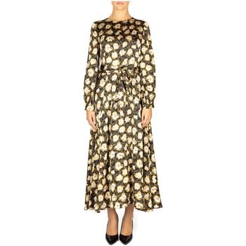 tekstylia Damskie Sukienki długie Anonyme ABITO gold