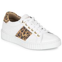 Buty Dziewczynka Trampki niskie Bullboxer LORIS Biały / Leopard