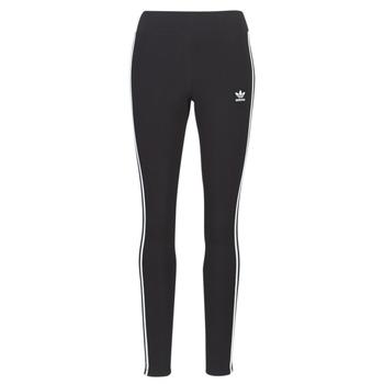 tekstylia Damskie Legginsy adidas Originals 3 STR TIGHT Czarny
