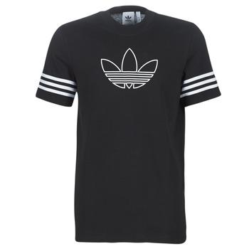 tekstylia Męskie T-shirty z krótkim rękawem adidas Originals OUTLINE TEE Czarny