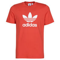 tekstylia Męskie T-shirty z krótkim rękawem adidas Originals TREFOIL T-SHIRT Czerwony / Luxuriant