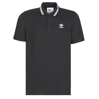 tekstylia Męskie Koszulki polo z krótkim rękawem adidas Originals PIQUE POLO Czarny