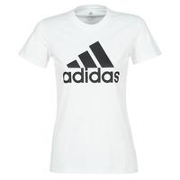 tekstylia Damskie T-shirty z krótkim rękawem adidas Performance BOS CO TEE Biały