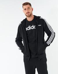 tekstylia Męskie Bluzy adidas Performance E 3S FZ FT Czarny