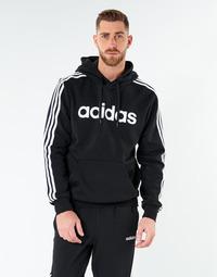 tekstylia Męskie Bluzy adidas Performance E 3S PO FL Czarny