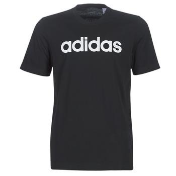 tekstylia Męskie T-shirty z krótkim rękawem adidas Performance E LIN TEE Czarny
