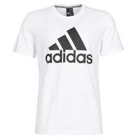 tekstylia Męskie T-shirty z krótkim rękawem adidas Performance MH BOS Tee Biały