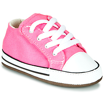 Buty Dziewczynka Trampki wysokie Converse Chuck Taylor First Star Canvas Hi Różowy
