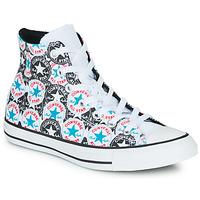 Buty Damskie Trampki wysokie Converse Chuck Taylor All Star Logo Play Biały / Czarny / Multi