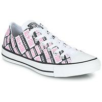 Buty Damskie Trampki wysokie Converse Chuck Taylor All Star Logo Play Biały / Różowy / Czarny