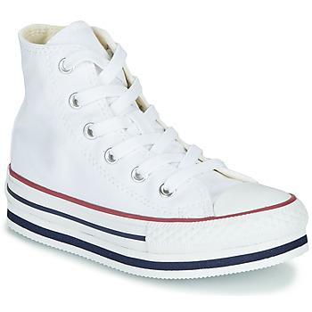 Buty Dziewczynka Trampki wysokie Converse Chuck Taylor All Star Platform Eva Everyday Ease Biały
