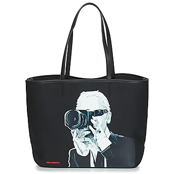 Torby Torby shopper Karl Lagerfeld KARL LEGEND PHOTOGRAPHER Czarny