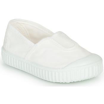 Buty Dziewczynka Trampki niskie Victoria CAMPING TINTADO Biały