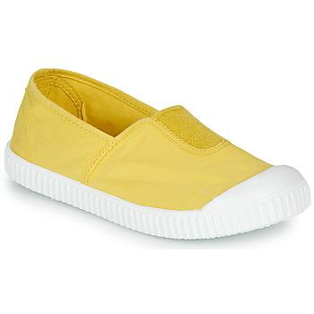 Buty Dziewczynka Trampki niskie Victoria CAMPING TINTADO Żółty