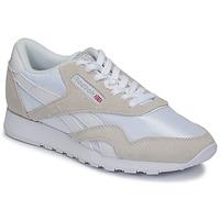 Buty Trampki niskie Reebok Classic CL NYLON Biały / Beżowy