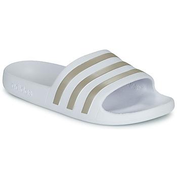 Buty Damskie klapki adidas Performance ADILETTE AQUA Biały