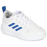 Buty Chłopiec Trampki niskie adidas Performance TENSAUR K Biały / Niebieski