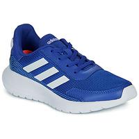 Buty Chłopiec Trampki niskie adidas Performance TENSAUR RUN K Niebieski / Biały
