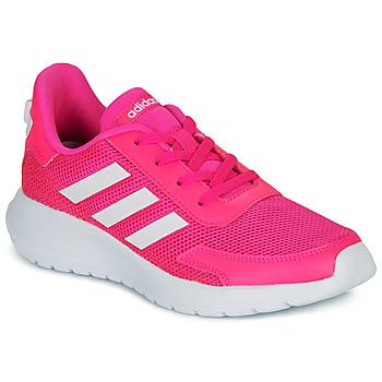 Buty Dziewczynka Trampki niskie adidas Performance TENSAUR RUN K Różowy / Biały