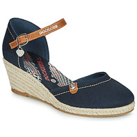 Buty Damskie Espadryle Dockers by Gerli 36IS210-667 Marine