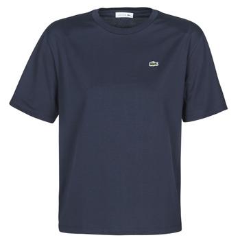 tekstylia Damskie T-shirty z krótkim rękawem Lacoste ELOI Marine